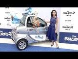 """Kate Perry (Smurfette) """"The Smurfs 2"""" Los Angeles Premiere Blue Carpet Arrivals"""