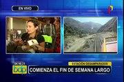 """Estación Desamparados: """"Ferrocarril Central Andino"""" lleva nuevamente a turista hacia Huancayo"""