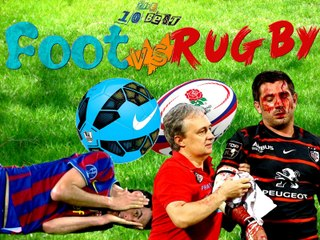 Football vs Rugby - Plaquages contre Simulations