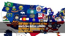 And about 40 percent of the nearly two million vehicles the United States exports go to its Nafta