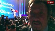 Richy, sosie de Johnny Halliday et soutien de Marine Le Pen