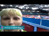 Mateja Pintar - My 5th blog-competition arena, Paralympics 2012