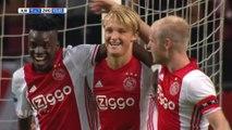 La frappe surpuissante de Kasper Dolberg avec l'Ajax