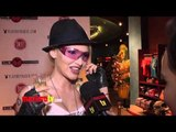 Emii Interview at Jessica Hall's Sweet! Birthday Party Celebration Red Carpet