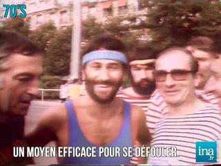 Jogging dans les 70's