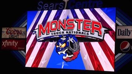 Hoffman Estates Monster Truck Nationals 2017 Highlights