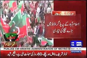 PTI 28 April Islamabad Jalsa Updates