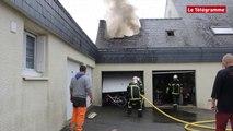 Quiberon (56). Incendie dans un pavillon à Kerné