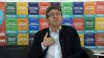 Jean-Luc Mélenchon s'exprime sur le second tour des présidentielles sur Youtube