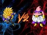 Dragon Ball Z Tenkaichi Tag Team Mods trunks ssj3 vs majin buu