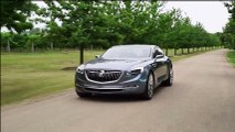 Buick Avenir concept - driving footage