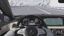 Le pilote de limitation de vitesse Mercedes ajuste la vitesse du véhicule