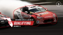 Formula Drift Orlando Qualifying LIVE