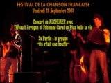 Festival Chanson Francaise 2007