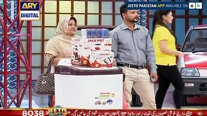 Q - Mobile bike winner in Jeeto Pakistan - 28th April 2017