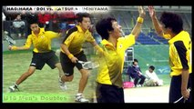 KATSURA / UCHIYAMA vs.HAGIHARA / DOI 2 +++ soft-tennis  ソフトテニス ++++