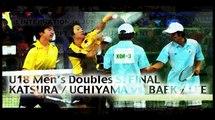 KATSURA / UCHIYAMA vs.BAEK / LEE 3 桂・内山 vs.ペク・イ