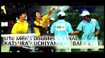 KATSURA / UCHIYAMA vs.BAEK / LEE 1 桂・内山vs.ペク・イ