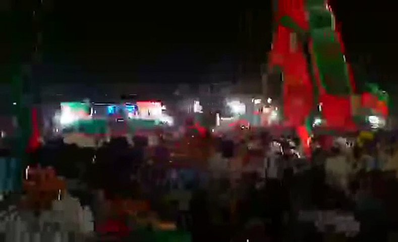 Brilliant Speech of Asad Umar in Parade Jalsa Islamabad