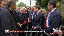 Oradour-sur-Glane : Emmanuel Macron en appelle au devoir de mémoire