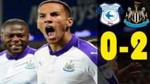 Cardiff City vs Newcastle United 0 - 2 Highlights  28.04.2017  HD