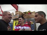Jermell Charlo In Camp - Working For Hatley Fight Is On Berto vs Porter Card EsNews Boxing
