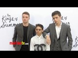 """The Kings of Summer"" Premiere Moises Arias, Nick Robinson, Gabriel Basso, Erin Moriarty"
