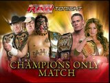 WWE John Cena and Candice Michelle vs Umaga, Lance Cade and Trevor Murdoch
