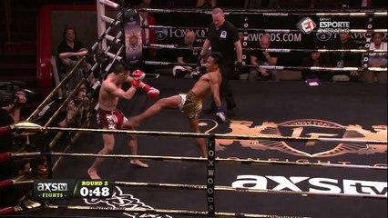 Lyon Fight 36 - QUE NOCAUTE ESPETACULAR! Lerdsila PhuketTopTeam venceu Jacob Hebeisen