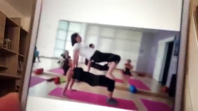 TEEN YOGA  MASTER Challenge Yoga challenge 2 KARLI YOGA TOGA Cp ilates KIZLAR İÇİN YOGA DERSİ