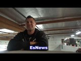 UFC Superstar TJ Dillashaw On Lomachenko Drills After Boxing Workout - NO JOKE! EsNews Boxing