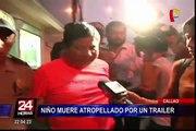 Niño de 3 años muere tras ser atropellado en avenida Sáenz Peña