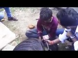 TV reporter bribing kid with liquor, forces him to say against BJP minister
