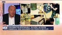 Rodolphe se démarque: Un centre commercial en Suède vend uniquement des produits recyclés - 29/04