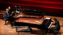 Debussy / arrangement Maurice Ravel : Nocturnes, arrangement pour deux pianos, extrait de Fêtes par Jean-Yves Thibaudet et Ray Ushikubo