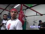 boxing superstar vasyl lomachenko full bag workout  - EsNews Boxing