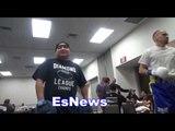 henry ramirez gets art reyes ready for fight night EsNews Boxing