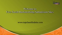 free social bookmarking submission sites