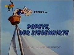 Popeye der Seefahrer 10 Popeye und Bigfoot Popeye der Feuerw