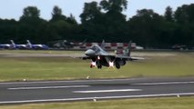 Vertical Takeoffs of Mig 29, F22, JF 17 Thunder and Eurofighter. Must watch.
