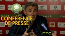 Conférence de presse US Orléans - Red Star  FC (4-0) : Didier OLLE-NICOLLE (USO) - Claude ROBIN (RED) - 2016/2017