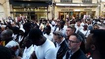 Une minute de silence en hommage à de Mamadou-Lamine Dhiedhiou, tué il y a une semaine à Besançon
