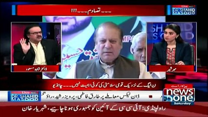 Live With Dr. Shahid Masood - 29th April 2017