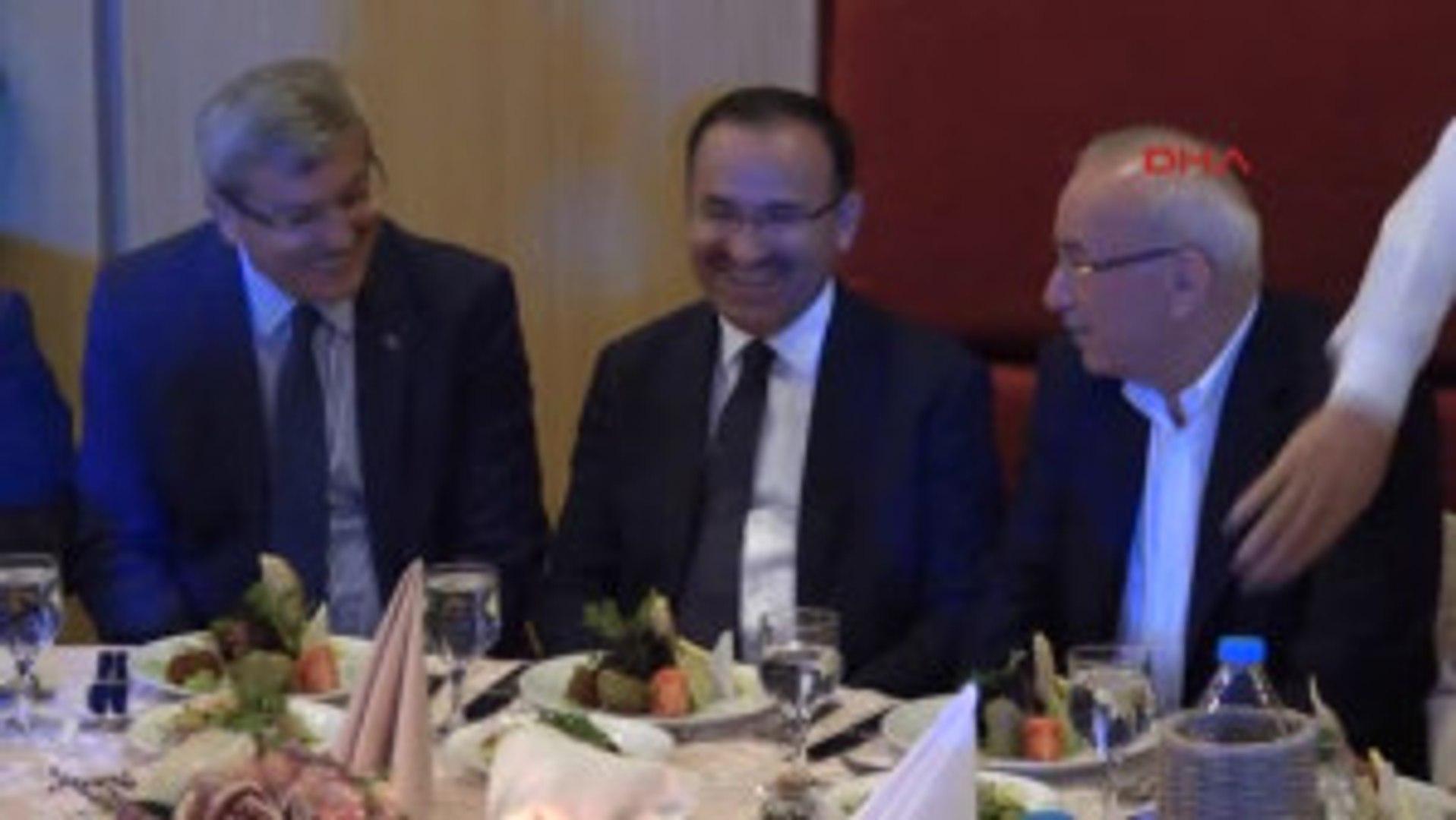 Bolu Bakan Bozdağ, HSYK Başkanvekili Yılmaz'ın Oğlunun Düğününe Katıldı