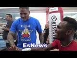 Ricky Funez Working With 154 WBC Champ Jermell Charlo - EsNews Boxing