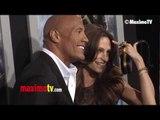"Dwayne Johnson and Lauren Hashian ""G.I. Joe Retaliation"" Los Angeles Premiere"