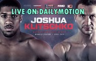 Anthony Joshua vs. Wladimir Klitschko [LIVE BOX] - Heavyweight Championship of The World - Wembley Stadium (29th April)