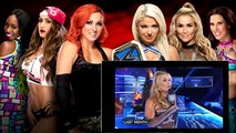 WWE ROYAL RUMBLE 2017 Team Alexa Bliss vs Team Becky Lynch