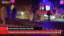 İstanbul'da lüks aracı durdurup kurşun yağdırdılar