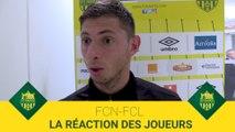 FCN-FCL : la réaction des joueurs